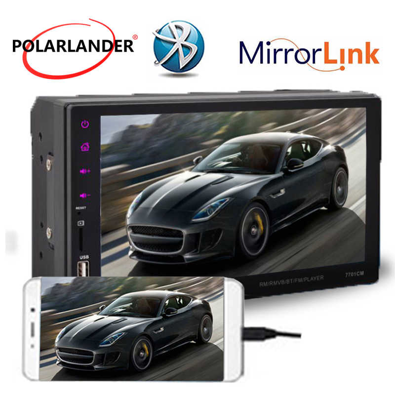 FM/TF/USB autoradio car radio car mirror link 9 languages 2 DIN 7 inch Car Stereo MP5 Radio Player Touch Screen Bluetooth Player