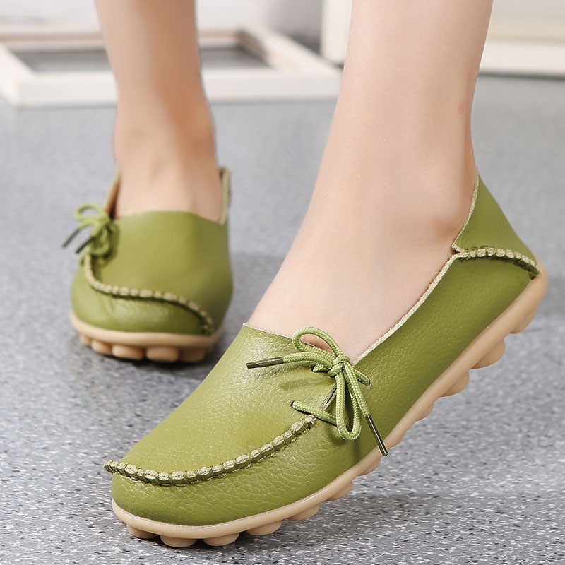 Women shoes 2018 new footwear Slip on Ballet Hollow genuine breathable soft flat shoes women comfortable loafers shoes ladies women s shoes 2017 summer new fashion footwear women s air network flat shoes breathable comfortable casual shoes jdt103