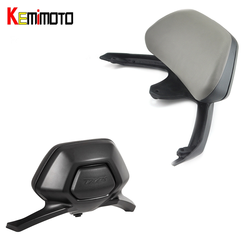 KEMiMOTO Motorcycle Accessories Back rest For YAMAHA T-MAX T MAX TMAX 530 2012 2015 TMAX530 Passenger Backrest Stay 2012-2016 стоимость