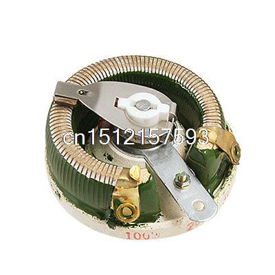Ceramic Disk Rheostat Power Variable Resistor 100W 20 Ohm zndiy bry 100w 150ohm aluminum alloy resistor golden