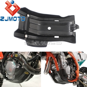 Off-Road Underside Engine Cover Guard For KTM 250 350 EXC-F Six Days 2017-2019 Skid Plate For Husqvarna FE250 FE350 2017-2018 free shipping ed skid plate guard fit for yamaha xg250 tricker xt250x serow250