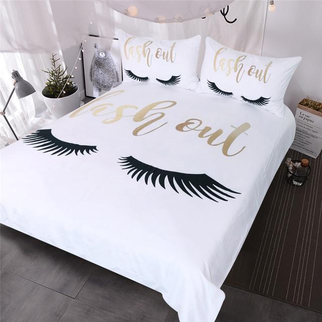 Lash Out Bedding Set