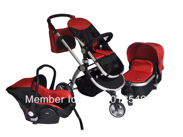 New Baby 3 In 1 Stroller Prams Factory With Carry Cot And Car Seat