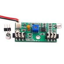 Микрофон звукосниматель микрофонный усилитель Модуль Регулируемый ретранслятор аудио усилительная схема усилитель сигнала переменного тока плата