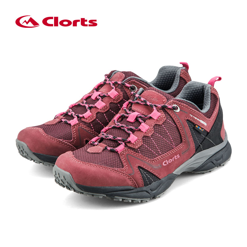 ФОТО 2016 Women Clorts Outdoor Shoes 6270726 Cow Suede Hiking Shoes Uneebtex Camping Shoes EVA Sports Shoes for Women