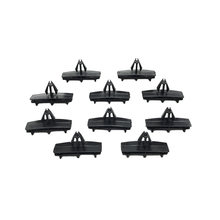 10pcs New Black Fender Flare Moulding Clips For Jeep Liberty Wrangler 2005-2011 2012 2013 2014 2015 OEM 55157055AA