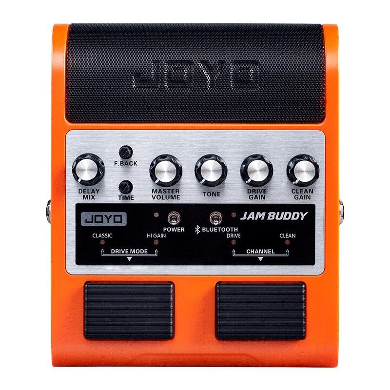 JAM BUDDY Rechargeable Bluetooth Play double canal pédale effet guitare haut-parleur 8 W pédale portable guitare électrique haut-parleur boîte