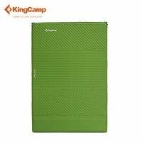 KingCamp туристический коврик 2 человек Двойной Экологичные самонадувающийся коврики комфорт Надувные матрасы для Открытый Поход