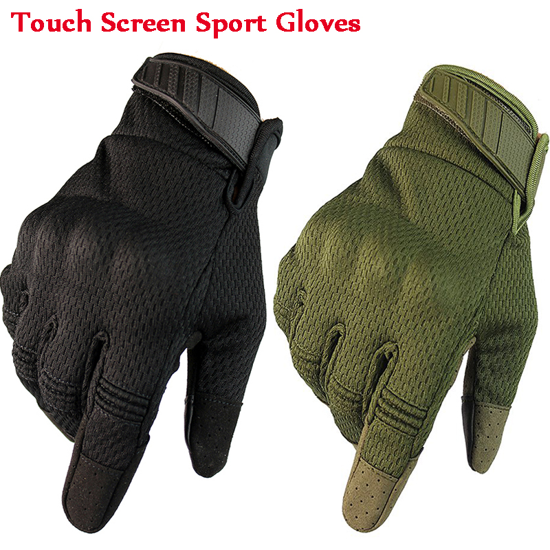 Breathable Full Finger Sport Gloves Hunting Airsoft Tactical Military Army Gloves Touch Screen Gloves Winter Gloves