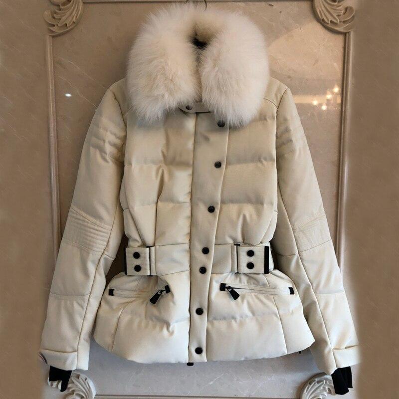 Роскошные женские пальто 2018 Элегантные зимние толстые пальто Для женщин зимнее теплое пальто Женская зимняя обувь куртка Для женщин