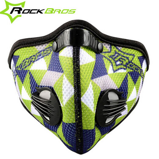 RockBros Outdoor Bike Face Mask Carbon Filter Anti dust Haze Mouth Muffle Cover