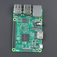 New 2018 Original Ras Pi3 B+ / Pi3 B Raspberry Pi 3 Model B Plus / Pi 3 Model B 1GB RAM LPDDR2 Quad Core With Wifi Bluetooth