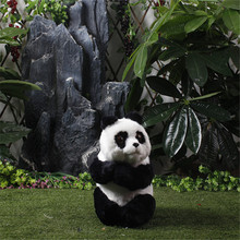 Panda Toy For Children Gifts Plush Toys Mini Panda Cute Imitation Sitting Panda