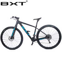 BXT 29inch carbon fiber Mountain bike 1*11 Speed Double Disc Brake 29