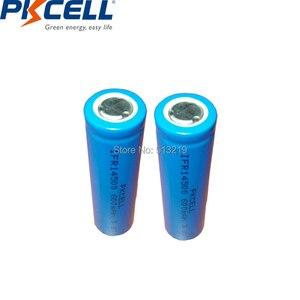 Image 1 - 2 Chiếc PKCELL AA 14500 3.2V Lifepo4 Pin Sạc Lithium Ion Cell 600MAH IFR14500 Cho Camera Năng Lượng Mặt Trời đèn Led