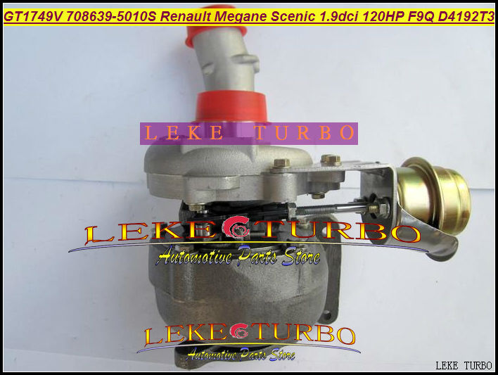 Free Ship GT1749V 708639-5010S 708639 708639-0002 7701474960 Turbo Turbocharger For Renault Espace Laguna VOLVO S40 V40 F9Q 1.9L