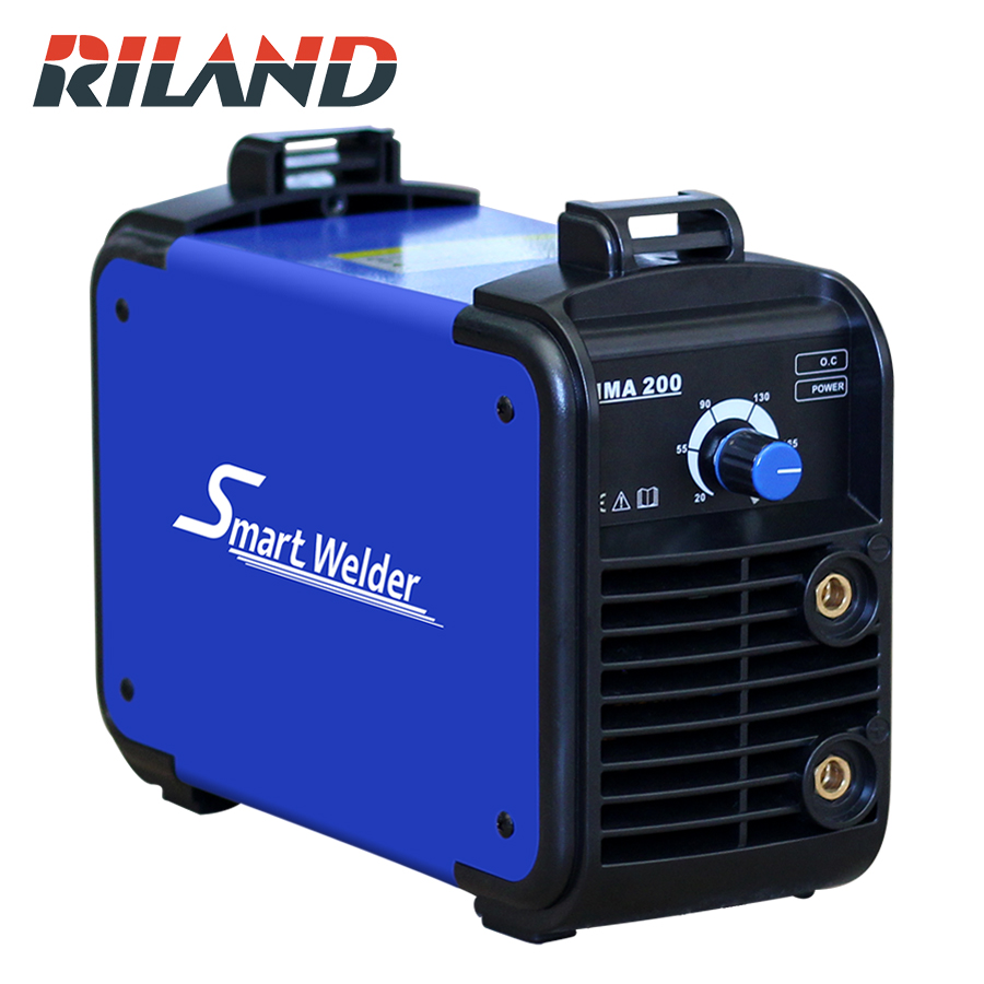 RILAND Smart Welder MMA <font><b>200</b></font> MINI MMA Welder Portable <font><b>ARC</b></font> Mini MMA Welding Machine Household Maintenance 230V MMA Smart Welder image