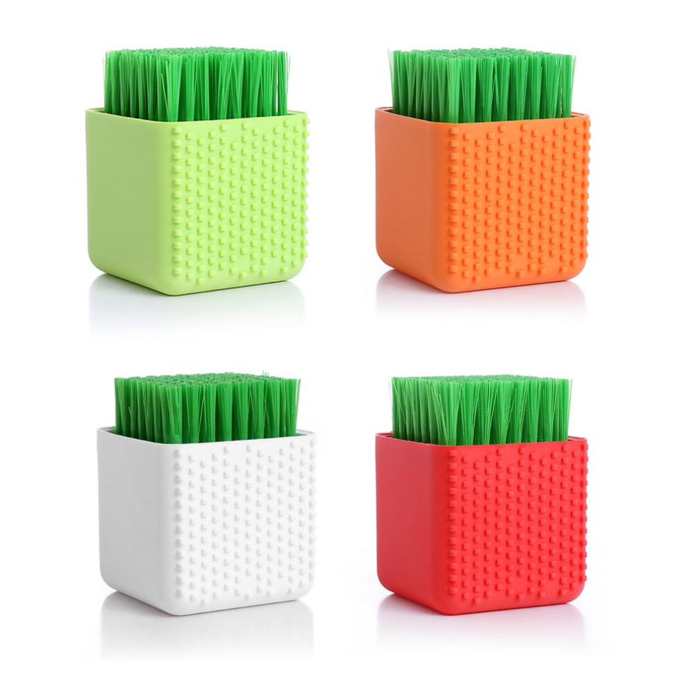 Pot-shaped Silicone Washing Brush Handheld Laundry Underwear Washboard Dual-use Household Cleaning Scrubber Cleaner Tools Hot