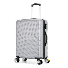 Travel suitcase Rolling Luggage Spinner trolley case 20/24/28inch boarding wheel Woman Cosmetic case carry-on luggage travel bag(China)