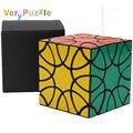 VeryPuzzle Cubo Del Trébol Negro Muy Puzzle Cubo Mágico Negro Cubo Mágico
