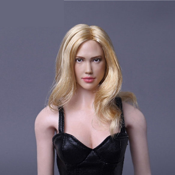 Mnotht 1/6 Golden Hair jessica alba Head Carved 1:6 Scale Hollywood actress Carving Head For 12in Figures l25 бумажник golden head портмоне 3331501