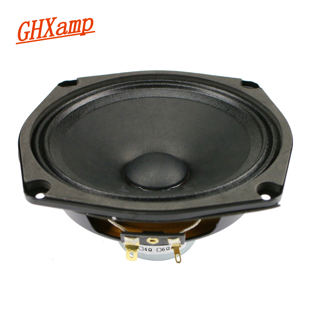 GHXAMP 5.25 Polegada 8ohm Orador Gama Completa de Alta Fidelidade 30 w Duplo de Neodímio 135mm KAPTON SRM150 Esqueleto Para 2.0 2.1 caixas de Pano Borda 1 pc