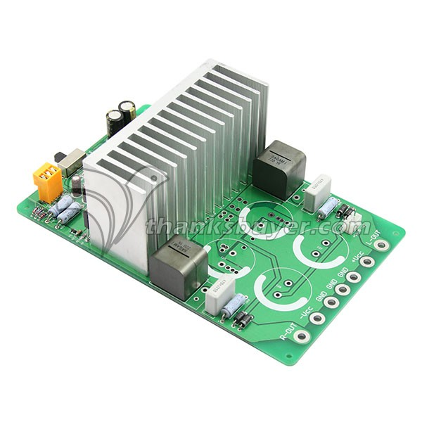 Top Iraud2000 7G31A-22UH Class D Amplifier 2000W Digital Amplifier Board Finished tas5630 amplifier class d board high power finished boards mono 600w for subwoofer or full range diy free shipping