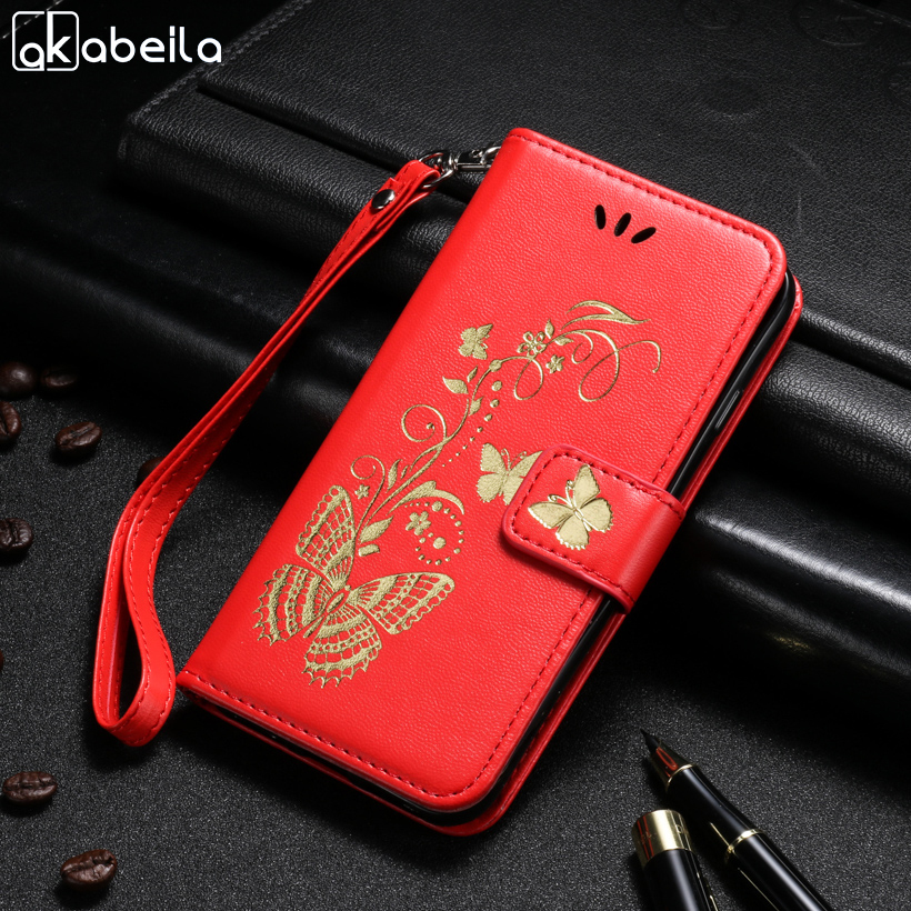 Galleria fotografica AKABEILA PU Leather Phone Cases For Samsung Galaxy J3 2016 J300 J310 J310F J310H J310M SM-J320 J300F J3000 J3109 Covers Bags