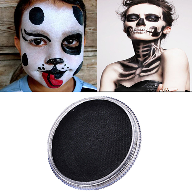 Aliexpress.com : Buy 30g Black Face Paint Body Painting Safety ...