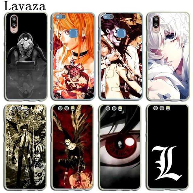 huge selection of fcc7b 140db US $2.55 |Lavaza Anime Death Note anime Phone Cover Case for Huawei P20 P9  P10 Plus P8 Mate 20 Pro 10 Lite Mini 2016 2017 P smart 2019-in Half-wrapped  ...