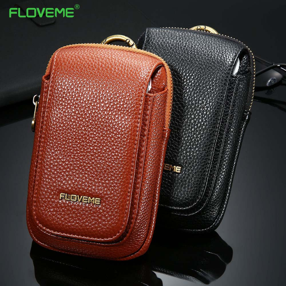 FLOVEME Leather Wallet For IPhone 7 7 Plus 6 6s Plus For Samsung Galaxy S7 S7