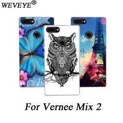 На Алиэкспресс купить чехол для смартфона weveye high quality patterns phone cases for vernee mix 2 painting tpu soft silicone cover for vernee mix 2 back cases