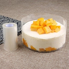 Mousse Transparent Edge Packaging Bag Wrapping Tape Cake Tools Baking Prevent from Falling Down Decorative