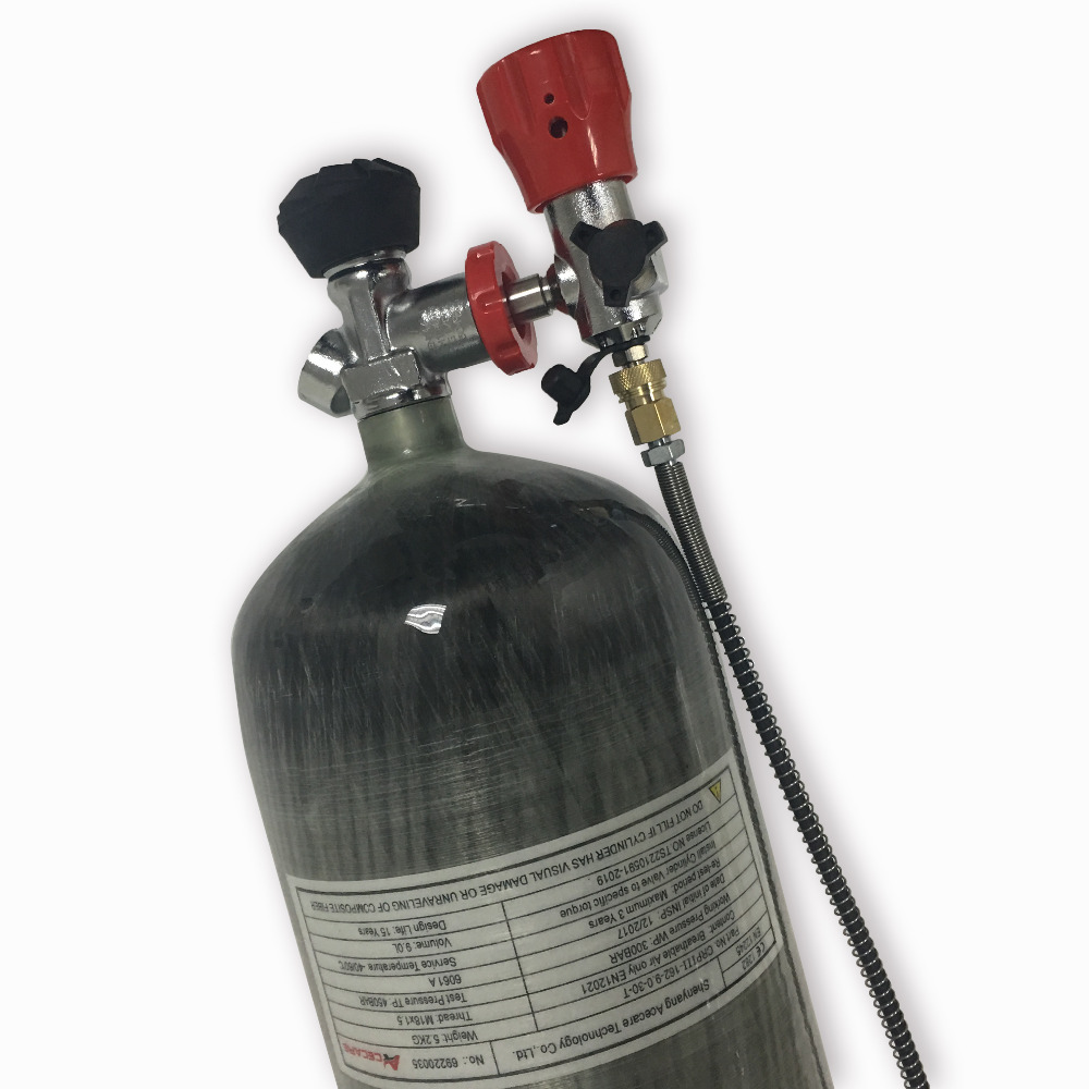 AC10931 Air Tanks Paintball Airforce Pcp 300bar Breathing Apparatus Pressure Tank High Pressure Cylinder For Rifle Pcp ACECARE