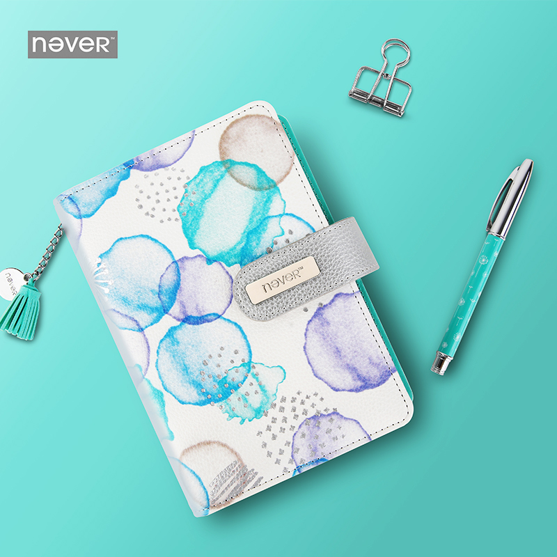 Never Dandelion Spiral Notebook Diary A6 Planner Organizer Agenda Notebooks And Journals Bullet Journal Gift Packing Stationery small binder a5 organizer notebooks and journals diary agenda spiral book stationery pu leather cover for students gilrs kids