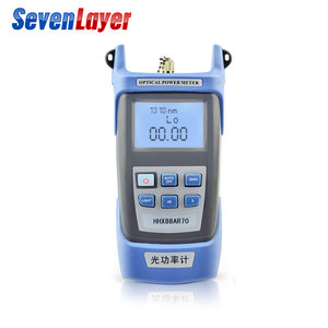 Image 2 - FTTH fiber optic tool kit FC 6S Fiber Cleaver Optical Power Meter 5 30km Visual Fault Locator otdr with Stripping Pliers