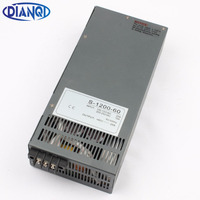 Mean Well 1200W 60V Switching Power Supply For LED Strip Light AC To DC Power Suply