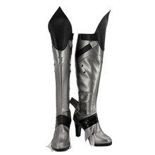 купить Hot Game OW Widowmaker Cosplay Boots Shoes for Halloween Christmas Custom Made по цене 3280.66 рублей