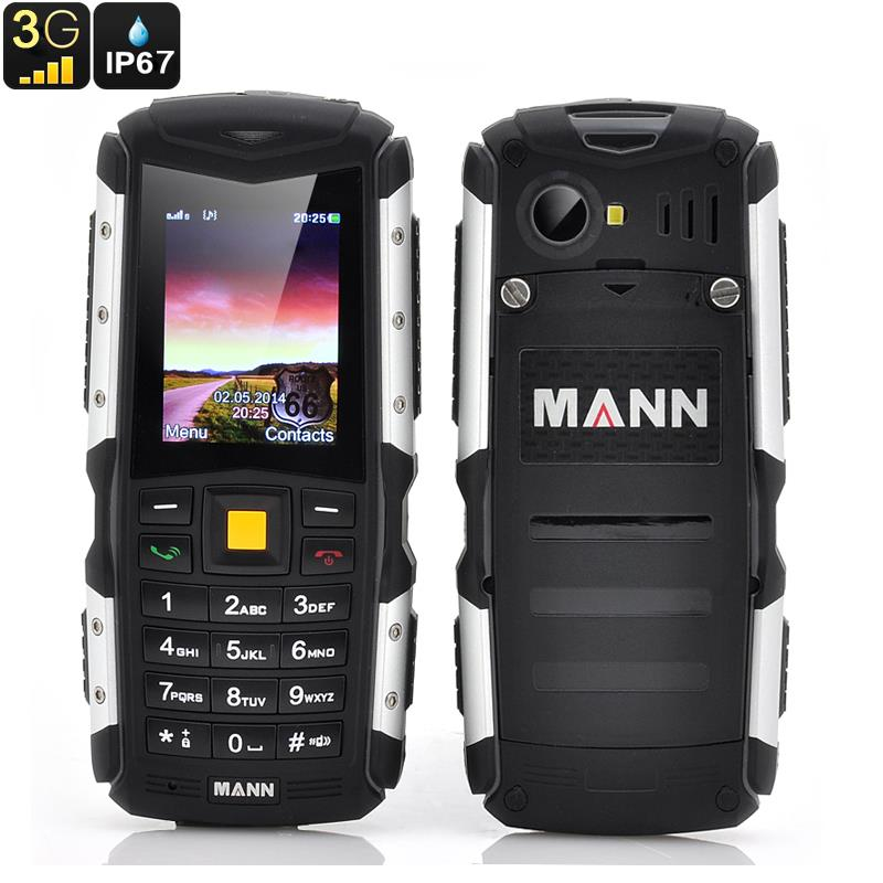Original Mann ZUG S ip67 3G Waterproof Rugged Phone GSM old man mobile Senior Phone Shockproof