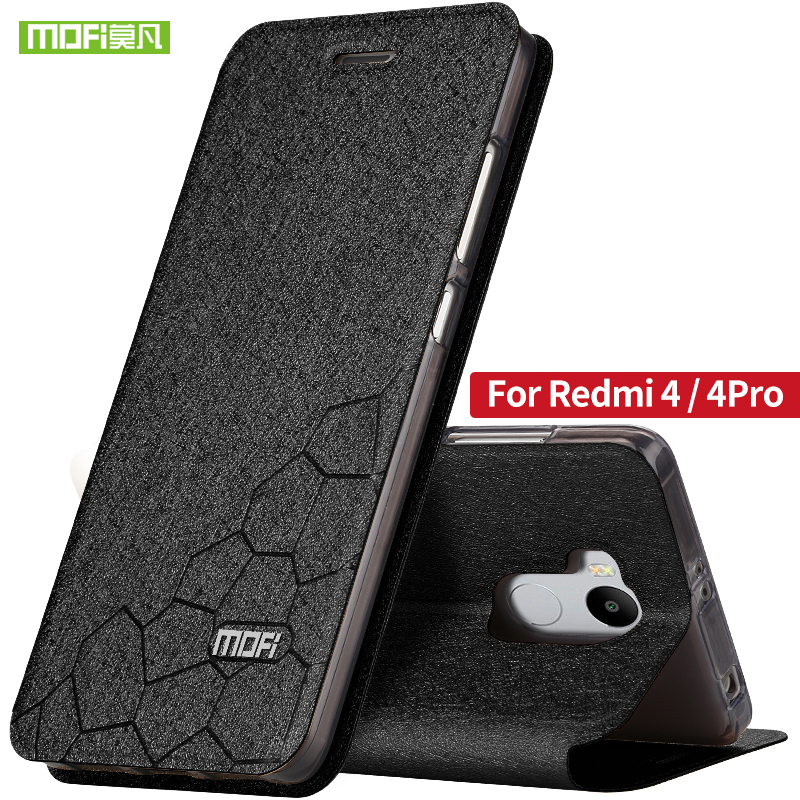 Xiaomi redmi 4 pro Prime case 5.0 inch Xiaomi redmi 4 case flip leather Mofi original case utral thin metal silicone back redmi4