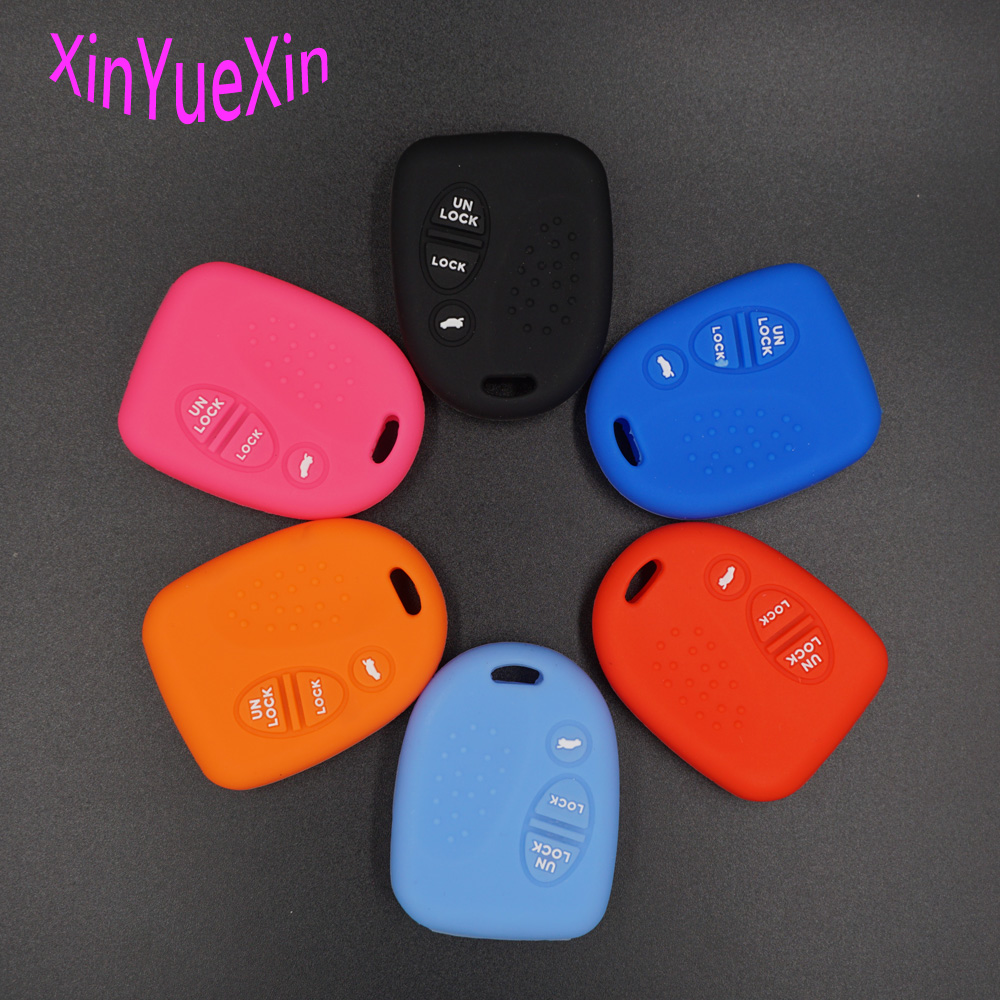 Xinyuexin Silicone Car Key Cover FOB Case For Holden Commodore Wh Wk Wl Vs Vt Vx Vy Vz For Chevrolet Remote Key Case Car-stylingXinyuexin Silicone Car Key Cover FOB Case For Holden Commodore Wh Wk Wl Vs Vt Vx Vy Vz For Chevrolet Remote Key Case Car-styling