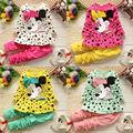 Hot Girls Clothing set Minnie Dot Tops Dress Pants Suit 2pcs Outfits Baby Kids