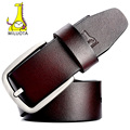 [MILUOTA] 2016 Brand Belts for Men High Quality Cow Genuine Leather Belt Man Fashion Designer Strap Male Jeans cintos MU067