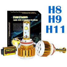 Taitian LED Headlight Bulbs Kit H8 H9 H11 60w 7,200Lm 6K Cool White – 2 Yr Warranty Fog DRL Replace Light Source Driving Bulbs