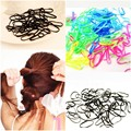 280pcs/pack Rubber Rope Ponytail Holder Elastic Hair Bands Ties Braids Plaits hair clip hairpins Hair Band Accessories