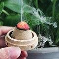 20pcs cone shape moxa rod Ginger moxibustion massage use acupuncture massage Ai Tuo with holder