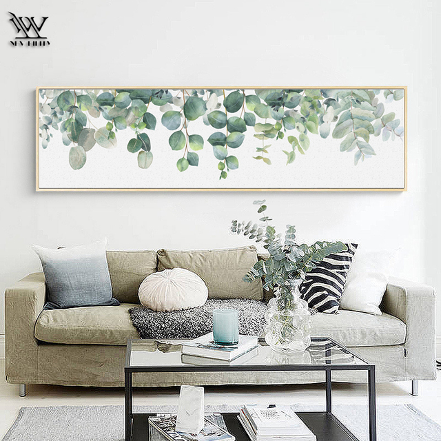 Posters Prints Marvel Monstera Living Room Cactus Home Wall Art Picture Modern Canvas Painting