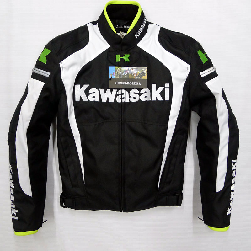 kawasaki warm Motorcycle off road jackets racing windproof jackets cycling riding jackets motorcycle clothing Safety Clothing