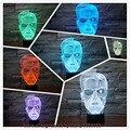 New Elegante Schwarzenegger 3D Colorido Luz Noturna leve Toque de Humor Desktop Mesa Atmosfera Ilusão Lâmpada Amigo & Criança De Férias Presentes