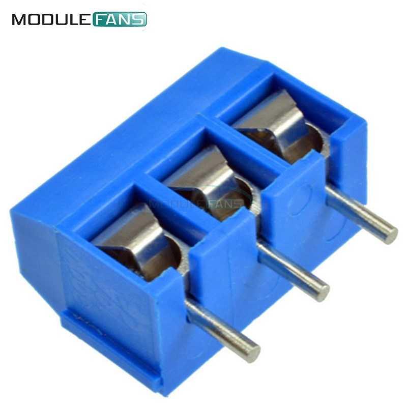 16A Ic ca 50 Stücke Schraubklemme 3 Stecker 5Mm Pitch KF301-3P 5,08 300 V